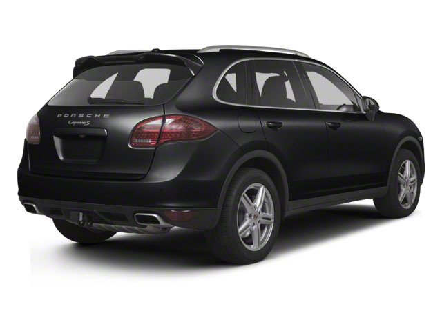 Black 2012 Porsche Cayenne Pictures Cayenne Utility 4D S AWD (V8) photos rear view