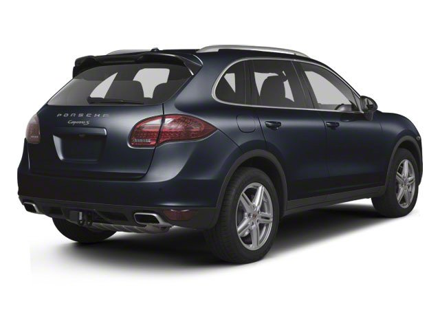 Dark Blue Metallic 2012 Porsche Cayenne Pictures Cayenne Utility 4D S AWD (V8) photos rear view