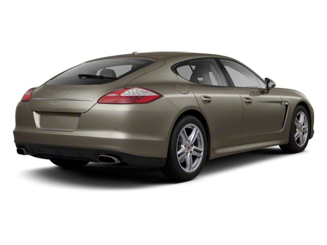 Topaz Brown Metallic 2012 Porsche Panamera Pictures Panamera Hatchback 4D Turbo AWD photos rear view