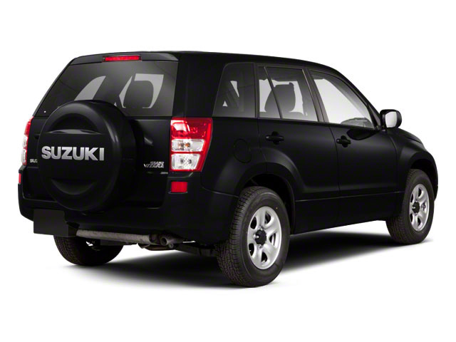 Black Pearl 2012 Suzuki Grand Vitara Pictures Grand Vitara Utility 4D Premium 4WD photos rear view