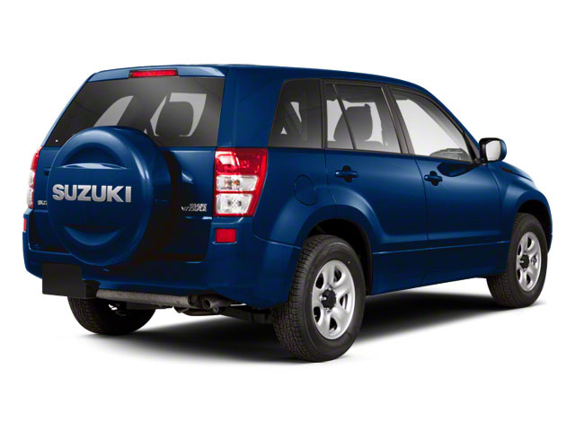 Deep Sea Blue Metallic 2012 Suzuki Grand Vitara Pictures Grand Vitara Utility 4D Premium 4WD photos rear view