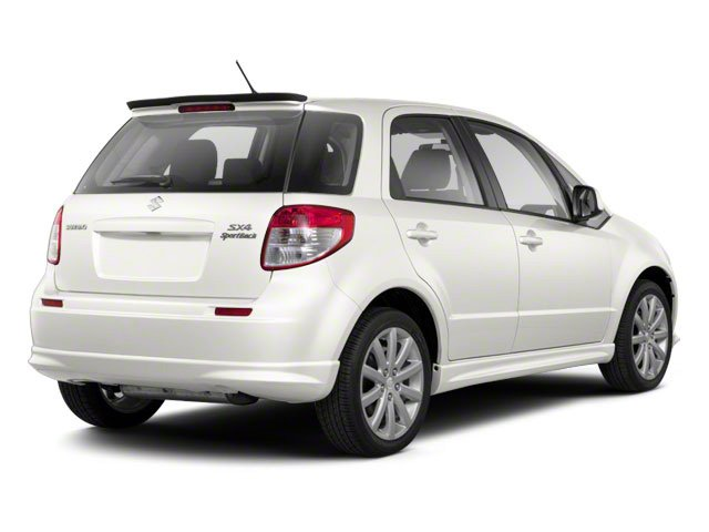 White Water Pearl 2012 Suzuki SX4 Pictures SX4 Hatchback 5D AWD photos rear view