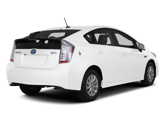 Blizzard Pearl 2012 Toyota Prius Plug-In Pictures Prius Plug-In Liftback 5D Plug-In Advanced Hybrid photos rear view