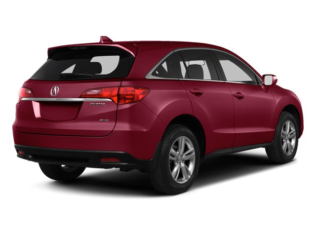 Basque Red Pearl II 2013 Acura RDX Pictures RDX Utility 4D 2WD photos rear view