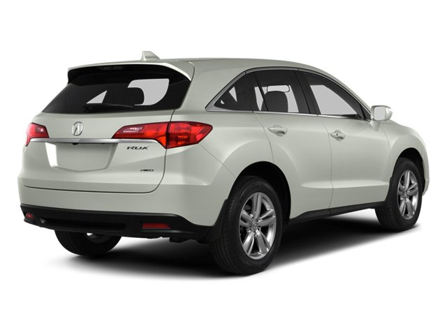 White Diamond Pearl 2013 Acura RDX Pictures RDX Utility 4D 2WD photos rear view
