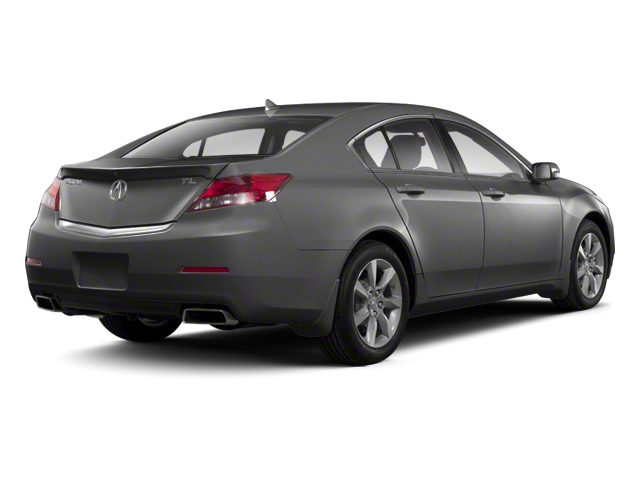 Graphite Luster Metallic 2013 Acura TL Pictures TL Sedan 4D Technology V6 photos rear view