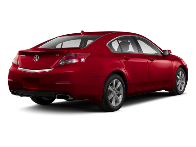Basque Red Pearl II 2013 Acura TL Pictures TL Sedan 4D Technology V6 photos rear view