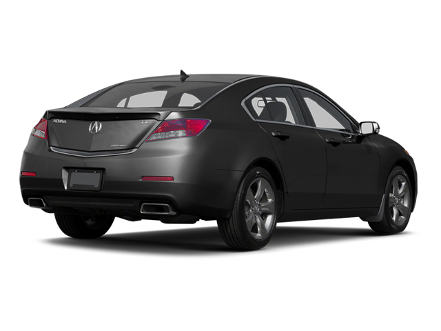 Crystal Black Pearl 2013 Acura TL Pictures TL Sedan 4D Advance V6 photos rear view