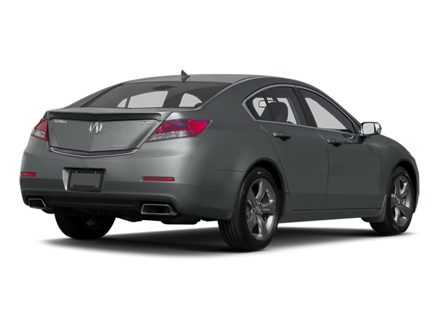 Graphite Luster Metallic 2013 Acura TL Pictures TL Sedan 4D Advance V6 photos rear view