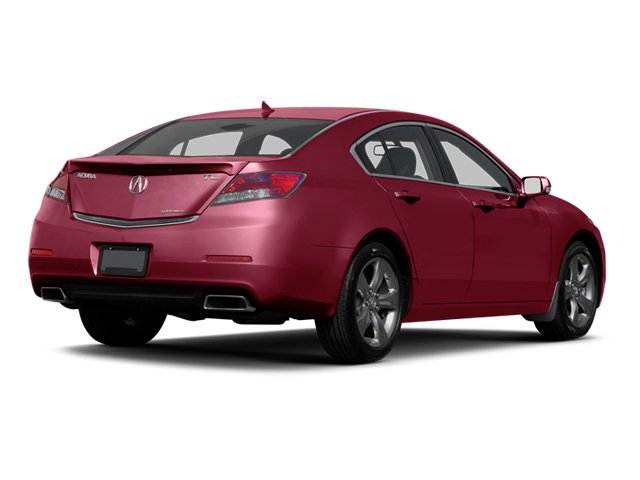Basque Red Pearl II 2013 Acura TL Pictures TL Sedan 4D Advance V6 photos rear view