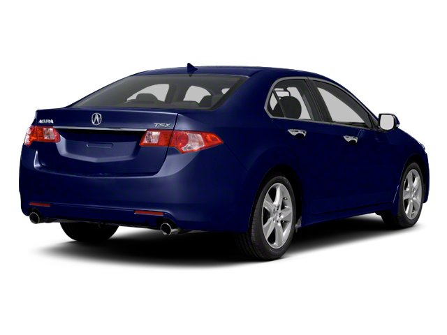 Vortex Blue Pearl 2013 Acura TSX Pictures TSX Sedan 4D I4 photos rear view