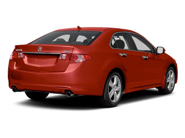 Milano Red 2013 Acura TSX Pictures TSX Sedan 4D I4 photos rear view