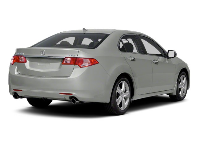 Forged Silver Metallic 2013 Acura TSX Pictures TSX Sedan 4D I4 photos rear view