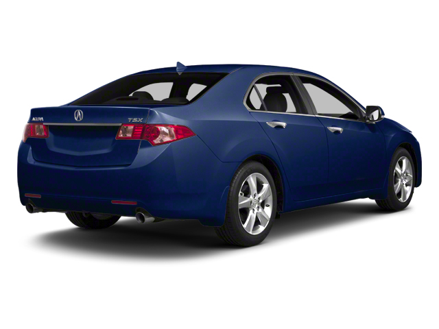 Vortex Blue Pearl 2013 Acura TSX Pictures TSX Sedan 4D Technology I4 photos rear view