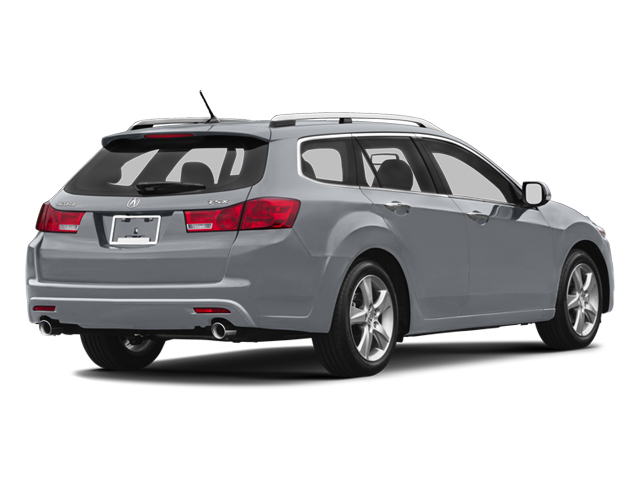 Forged Silver Metallic 2013 Acura TSX Sport Wagon Pictures TSX Sport Wagon 4D Technology I4 photos rear view
