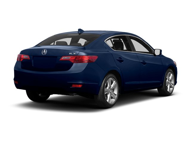Fathom Blue Pearl 2013 Acura ILX Pictures ILX Sedan 4D Technology photos rear view