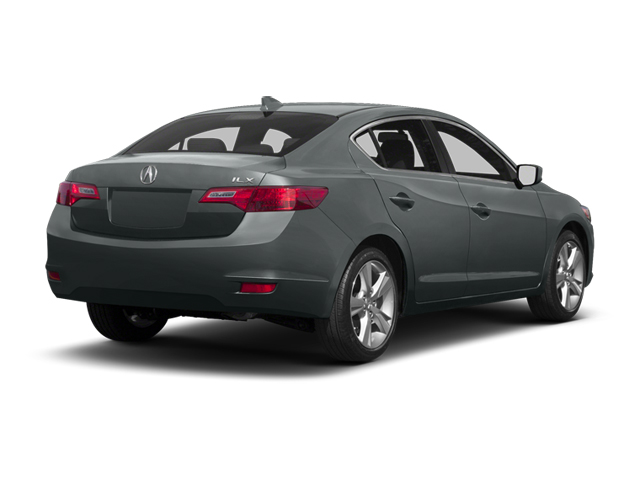 Polished Metal Metallic 2013 Acura ILX Pictures ILX Sedan 4D Technology photos rear view