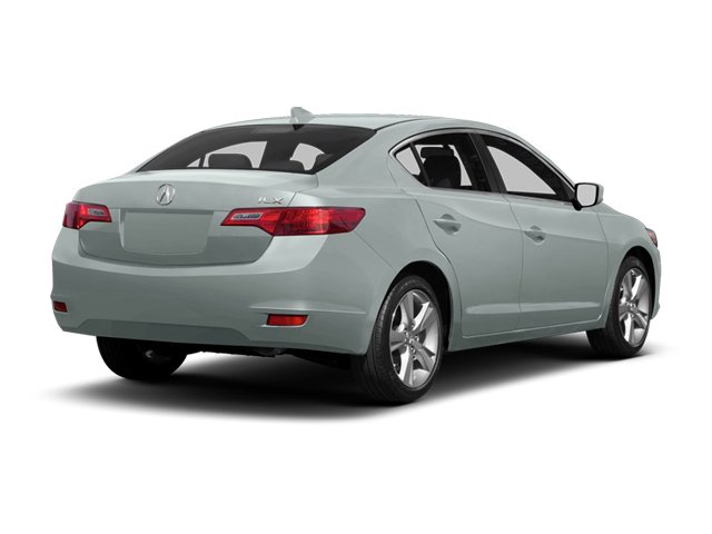 Silver Moon Metallic 2013 Acura ILX Pictures ILX Sedan 4D Technology photos rear view