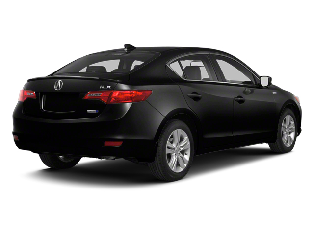 Crystal Black Pearl 2013 Acura ILX Pictures ILX Sedan 4D Hybrid Technology photos rear view