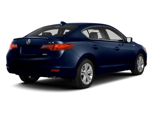 Fathom Blue Pearl 2013 Acura ILX Pictures ILX Sedan 4D Hybrid Technology photos rear view