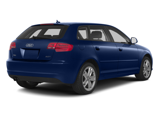 Scuba Blue Metallic 2013 Audi A3 Pictures A3 Hatchback 4D 2.0T Premium photos rear view