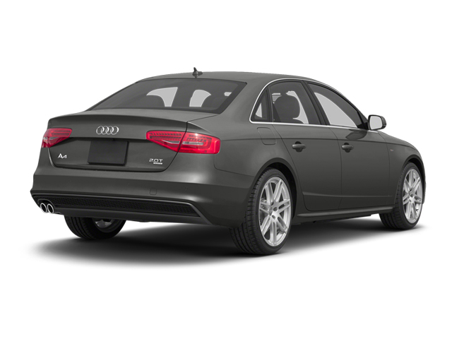 Monsoon Gray Metallic 2013 Audi A4 Pictures A4 Sedan 4D 2.0T Premium Plus AWD photos rear view