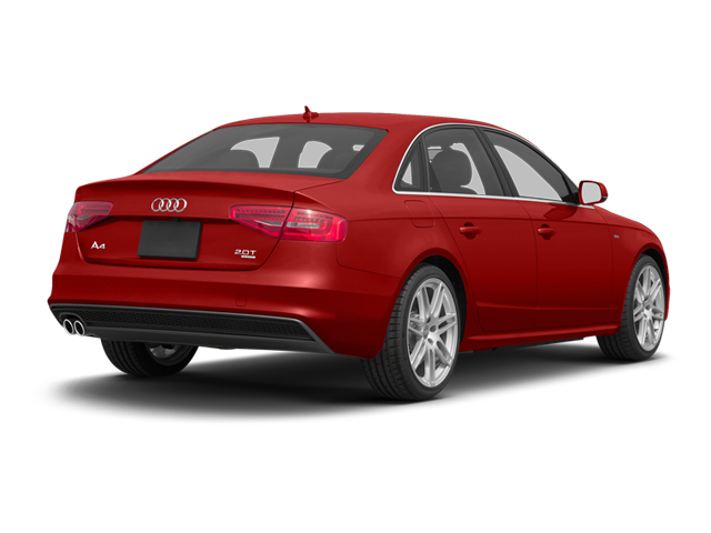 Volcano Red Metallic 2013 Audi A4 Pictures A4 Sedan 4D 2.0T Premium Plus AWD photos rear view
