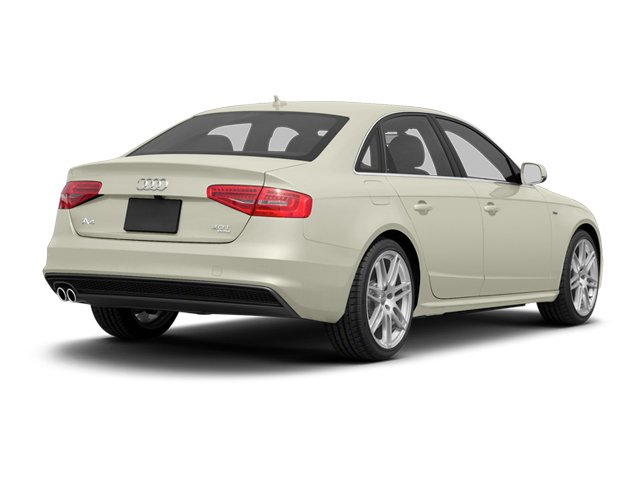 Glacier White Metallic 2013 Audi A4 Pictures A4 Sedan 4D 2.0T Premium Plus AWD photos rear view