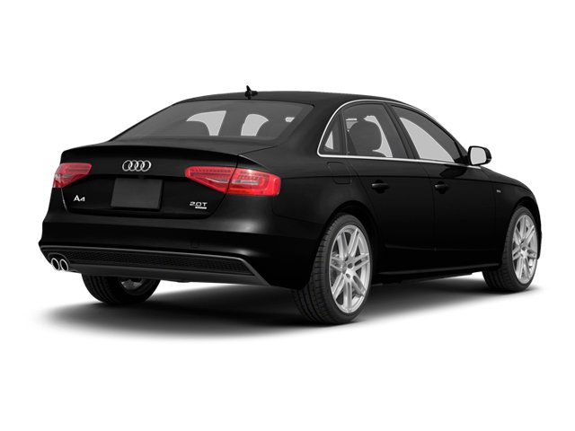 Brilliant Black 2013 Audi A4 Pictures A4 Sedan 4D 2.0T Premium Plus AWD photos rear view