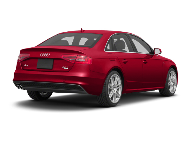 Brilliant Red 2013 Audi A4 Pictures A4 Sedan 4D 2.0T Premium Plus AWD photos rear view