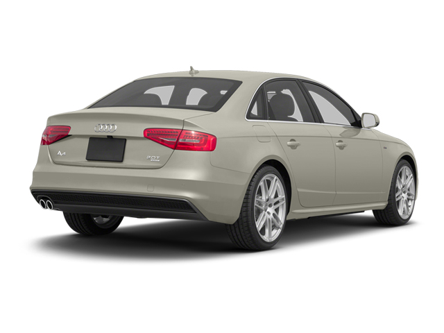 Ice Silver Metallic 2013 Audi A4 Pictures A4 Sedan 4D 2.0T Premium Plus AWD photos rear view