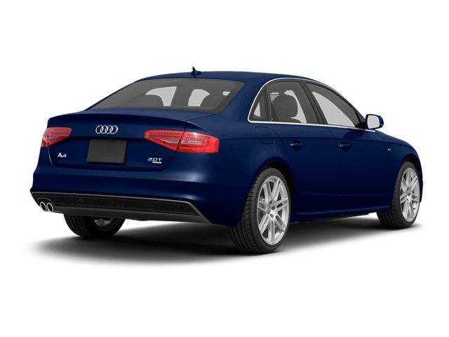 Scuba Blue Metallic 2013 Audi A4 Pictures A4 Sedan 4D 2.0T Premium Plus AWD photos rear view