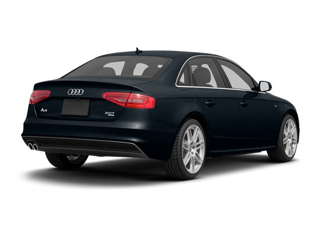 Moonlight Blue Pearl 2013 Audi A4 Pictures A4 Sedan 4D 2.0T Premium Plus AWD photos rear view