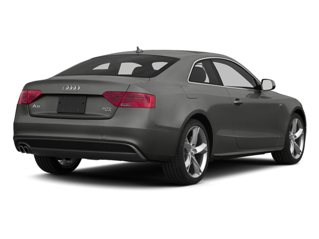 Monsoon Gray Metallic 2013 Audi A5 Pictures A5 Coupe 2D Prestige AWD photos rear view