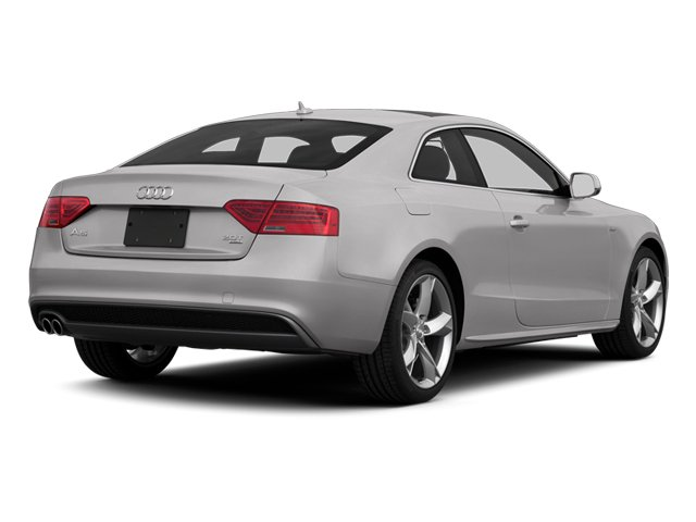 Cuvee Silver Metallic 2013 Audi A5 Pictures A5 Coupe 2D Prestige AWD photos rear view
