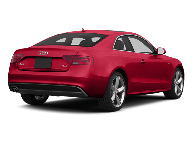Brilliant Red 2013 Audi A5 Pictures A5 Coupe 2D Prestige AWD photos rear view