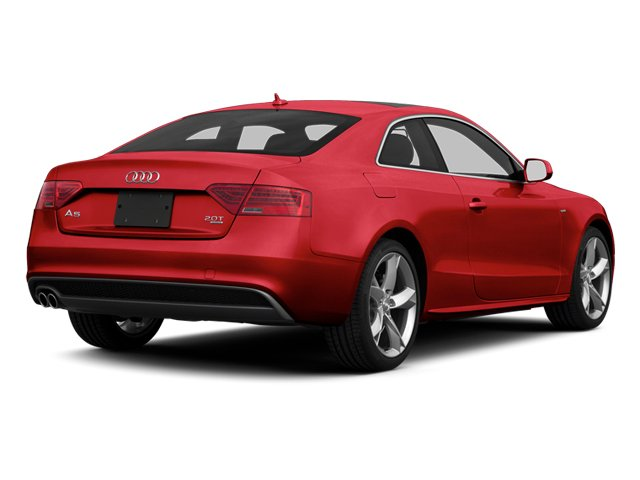 Brilliant Red 2013 Audi A5 Pictures A5 Coupe 2D S-Line AWD photos rear view