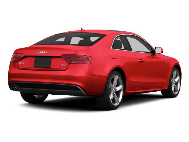 Misano Red 2013 Audi A5 Pictures A5 Coupe 2D Prestige AWD photos rear view