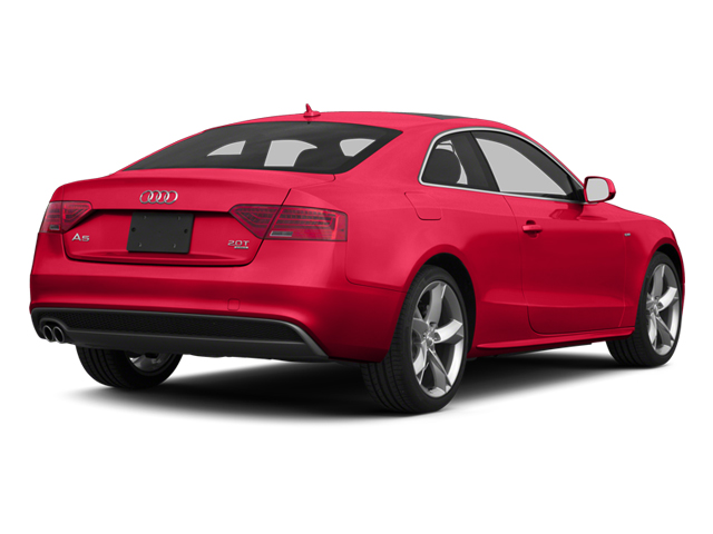 Misano Red 2013 Audi A5 Pictures A5 Coupe 2D S-Line AWD photos rear view