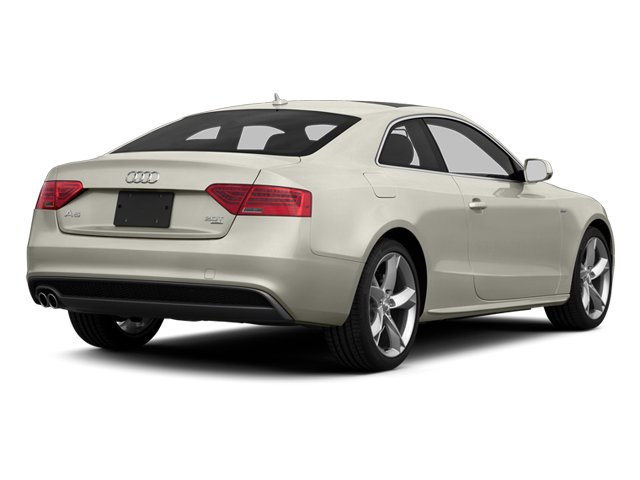 Ice Silver Metallic 2013 Audi A5 Pictures A5 Coupe 2D Prestige AWD photos rear view