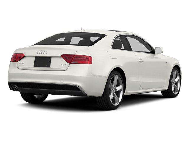 Ibis White 2013 Audi A5 Pictures A5 Coupe 2D S-Line AWD photos rear view