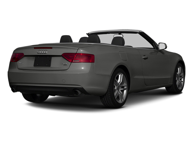 Monsoon Gray Metallic 2013 Audi A5 Pictures A5 Convertible 2D Premium Plus 2WD photos rear view