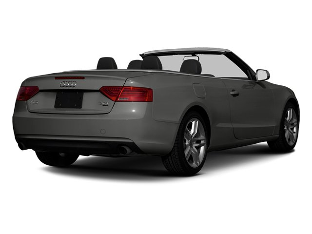Monsoon Gray Metallic 2013 Audi A5 Pictures A5 Convertible 2D Premium 2WD photos rear view