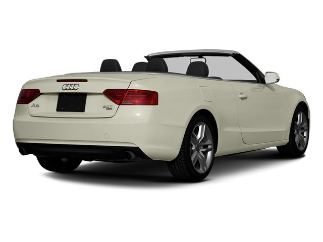 Glacier White Metallic 2013 Audi A5 Pictures A5 Convertible 2D Premium 2WD photos rear view