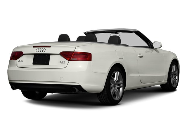 Ibis White 2013 Audi A5 Pictures A5 Convertible 2D Prestige 2WD photos rear view
