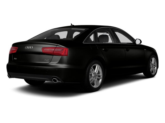 Havanna Black Metallic 2013 Audi A6 Pictures A6 Sedan 4D 2.0T Premium 2WD photos rear view