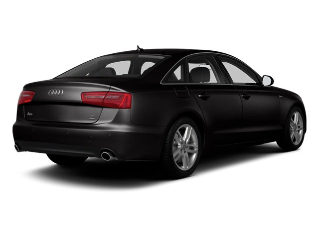 Oolong Gray Metallic 2013 Audi A6 Pictures A6 Sedan 4D 2.0T Premium Plus 2WD photos rear view