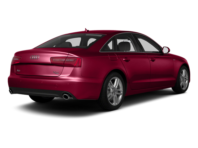 Garnet Red Pearl 2013 Audi A6 Pictures A6 Sedan 4D 2.0T Premium 2WD photos rear view