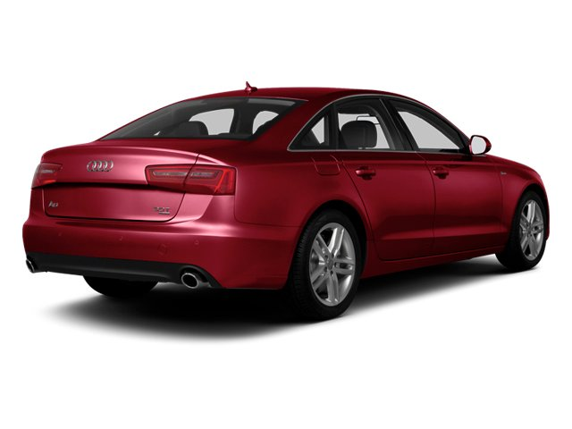 Garnet Red Pearl 2013 Audi A6 Pictures A6 Sedan 4D 2.0T Premium Plus 2WD photos rear view