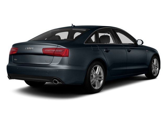 Moonlight Blue Metallic 2013 Audi A6 Pictures A6 Sedan 4D 2.0T Premium AWD photos rear view